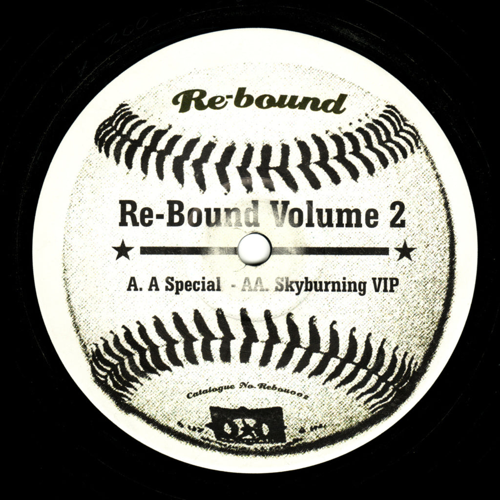 "Juju - Re-Bound Volume 12"" Rebound Recordings REBOU 002"