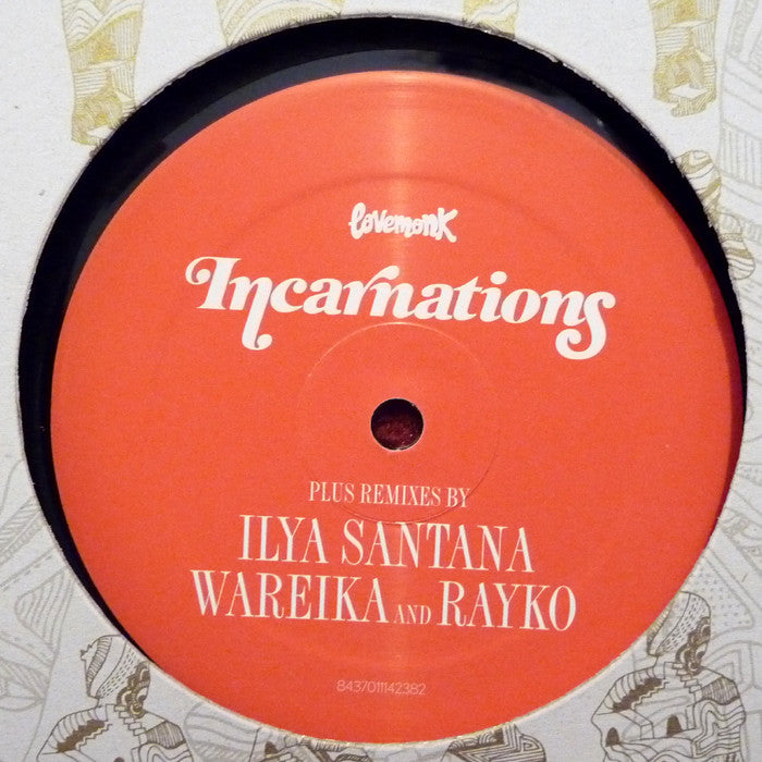 "Incarnations - Meet Me At Midnight 12"" LMNKV65 Lovemonk"