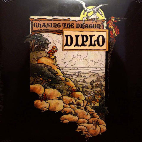 Diplo ‎– Chasing The Dragon (CD) Mad Greasy ‎– MAG-002