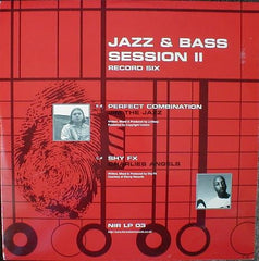 DJ SS - Jazz & Bass Session II - New Identity Recordings NIR LP03