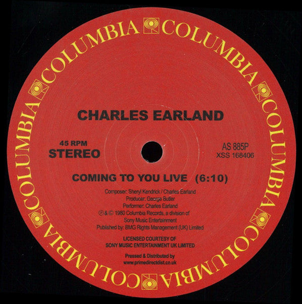 Charles Earland ‎– Coming To You Live - Columbia ‎– AS 885P