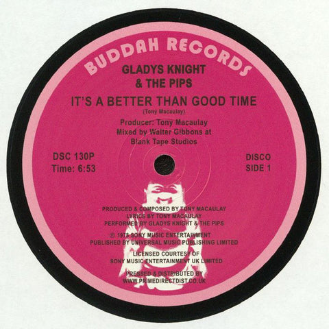 Gladys Knight And The Pips ‎– It's A Better Than Good Time Buddah Records ‎– DSC130P