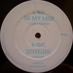 J J Louis & Sovereign - On My Mind N19006 N19 Recordings