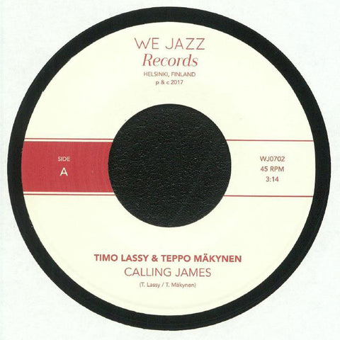 Timo Lassy & Teppo Makynen ‎– Calling James / Yanki - We Jazz ‎– WJ0702