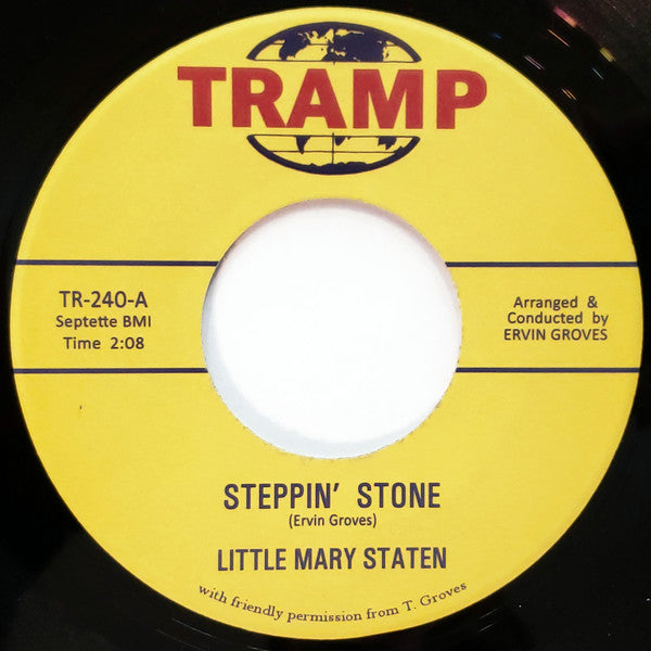 Little Mary Staten ‎– Steppin' Stone - Tramp Records ‎– TR240