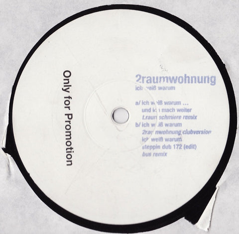 "2raumwohnung ‎– Ich Weib Warum 12"" It.sounds ‎– it.10"