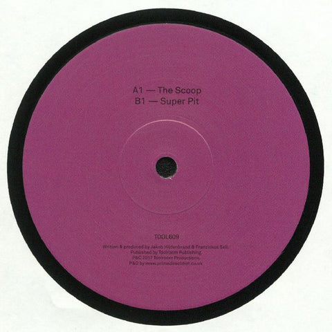 Format B ‎– The Scoop EP - Toolroom Records ‎– TOOL60901V