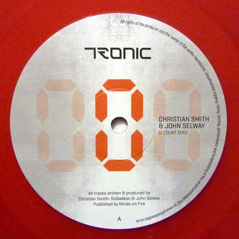 Christian Smith & John Selway ‎– Count Zero - Tronic ‎– TR113V