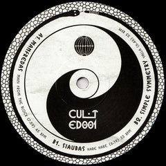 Various ‎– CULTED001 - Cult Edits ‎– CULTED001