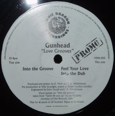 Gunhead - Love Grooves - Magic Dragon Recordings MDR 002