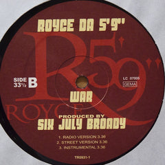 "Royce Da 5'9"" - Make This Run 12"" TR593-1 Trouble Records"