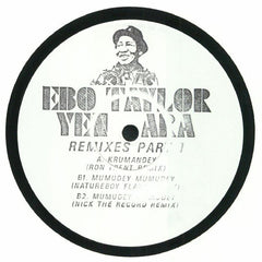 Ebo Taylor ‎– Yen Ara: Remixes Part 1 - Mr Bongo ‎– MRB12050