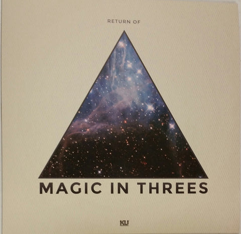 Magic In Threes ‎– Return of... - KingUnderground Records ‎– KU-050