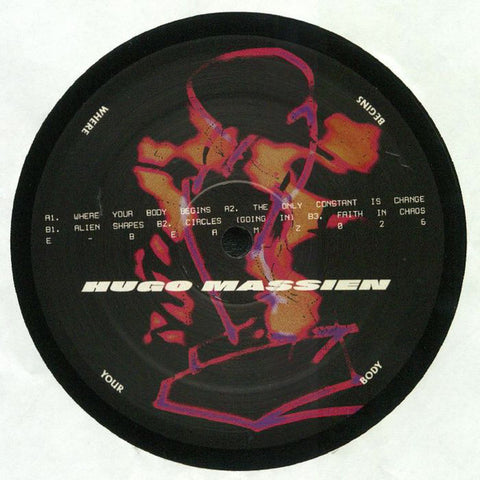 Hugo Massien ‎– Where Your Body Begins - E-Beamz ‎– EBEAMZ026