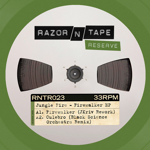 Jungle Fire ‎– Firewalker EP - Razor N Tape Reserve ‎– RNTR023