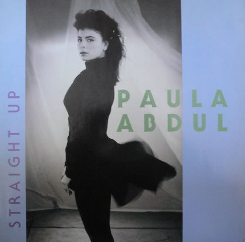 "Paula Abdul - Straight Up 12"" SRNT111 Siren Records"