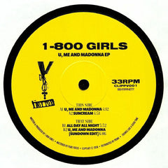 1-800 GIRLS ‎– U, Me And Madonna EP - clippart ‎– CLIPPV001