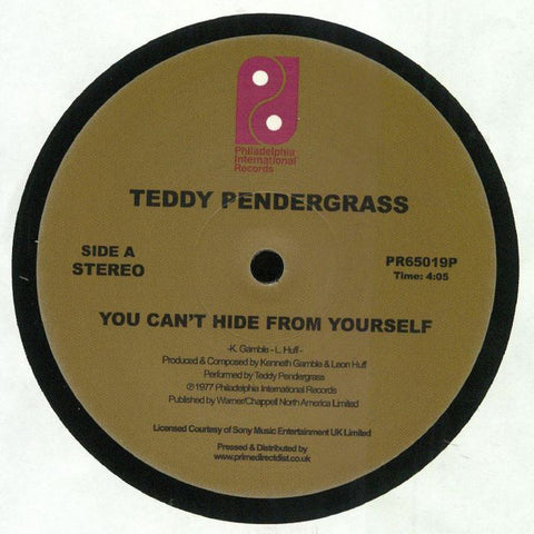 Teddy Pendergrass ‎– You Can't Hide From Yourself / The More I Get, The More I Want - Philadelphia International Records ‎– PR65019P
