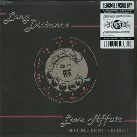 Various ‎– Long Distance Love Affair (The Hidden Sounds Of Soul Music) Super Disco Edits ‎– SDE43