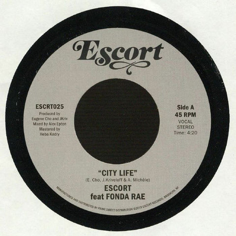 Escort ‎– City Life / Fantasy - Escort Records ‎– ESCRT025