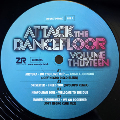Various ‎– Attack The Dancefloor Volume Thirteen - Z Records ‎– ZEDD12277