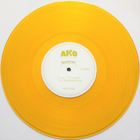 Madcap - Out Of Reach / Sunshine Dub - AKO10 ‎– AKO10 003