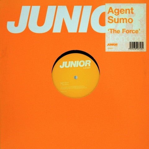 "Agent Sumo - The Force 12"" BRG055 Junior London"