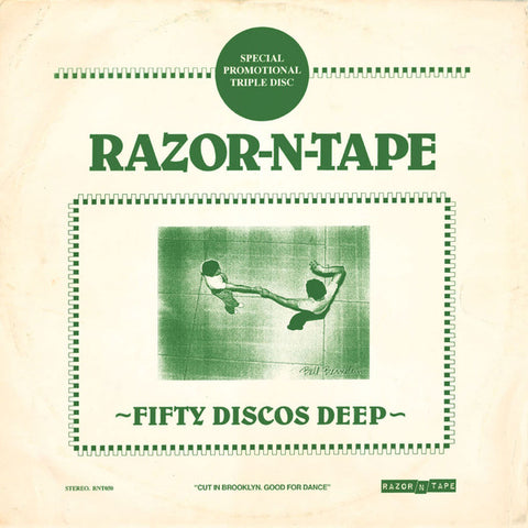 Various ‎– Fifty Discos Deep - Razor N Tape ‎– RNT050