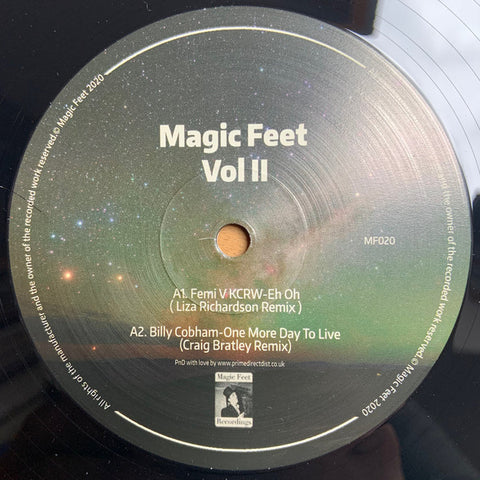 Various ‎– Magic Feet Vol II Magic Feet ‎– MF020