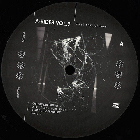 Various ‎– A-Sides Volume 9 Vinyl Four Of Four Drumcode ‎– DC223.4