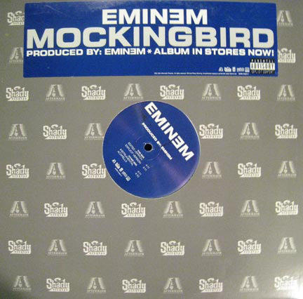 Eminem ‎– Mockingbird - Aftermath Entertainment, Shady Records, Interscope Records, Web Entertainment ‎– INTR-11341-1