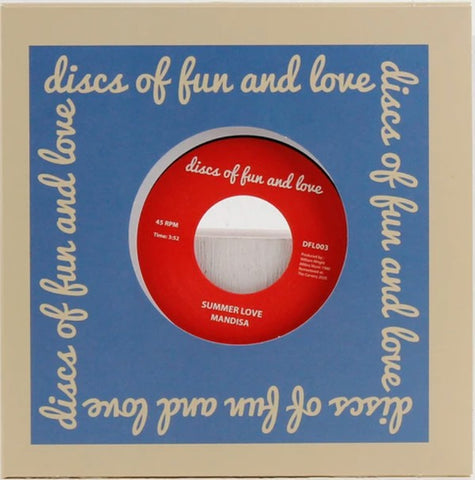 Mandisa - Summer Love / Love's Dream Discs of Fun and Love ‎– DFL003