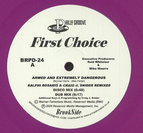 First Choice ‎– Armed & Extremely Dangerous Philly Groove Records , Brookside BRPD24