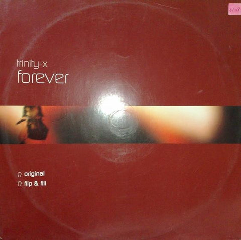 "Trinity-X - Forever 12"" 12GLOBE255 All Around The World"
