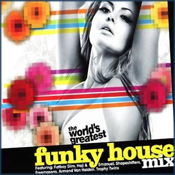 Various - The World's Greatest Funky House Mix (CD) Resist Music RESISTCD92