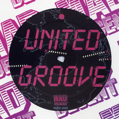 "L-Vis 1990 - United Groove 12"" MAD099 Mad Decent"