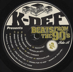 "K-Def - Beats From The 90's Vol. 2 12"" Ghetto Man Beats GMB-2176"