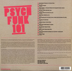 "Various - Psych Funk 101 12"" WPFC101 World Psychedelic Funk Classics"