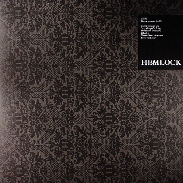 "Untold - Gonna Work Out Fine EP 2x12"" HEK005 Hemlock Recordings"