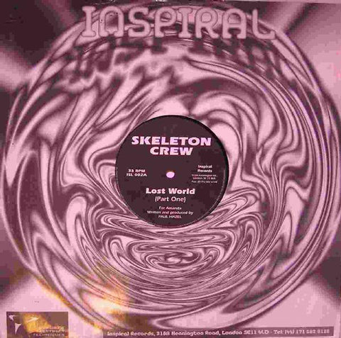 Skeleton Crew ‎– Lost World - Inspiral Records (UK) ‎– ISL 002