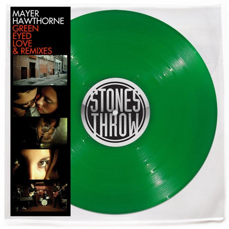 "Mayer Hawthorne - Green Eyed Love & Remixes 12"" STH2236 Stones Throw Records"