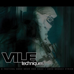 Various ‎– Vile Techniques (A Tactical Dark Drum And Bass / Hard Breaks Strike) (CD) Killing Sheep Records KSHEEPCD02