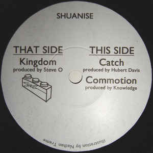 Shuanise ‎– Kingdom / Catch / Commotion - Eglo Records ‎– EGLO 004