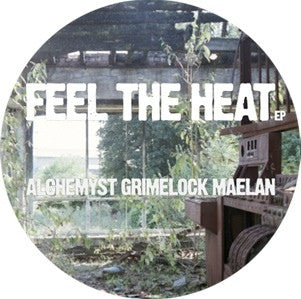 "Alchemyst, Grimelock, Maelan ‎– Feel The Heat EP 12"" Stainage ‎– STAIN003"
