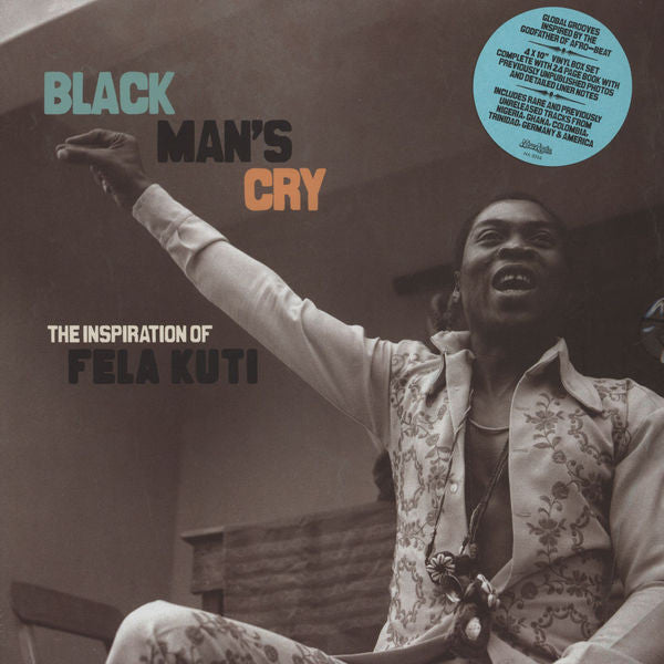 Various ‎– Black Man's Cry The Inspiration Of Fela Kuti - Now-Again Records ‎– NA 5056