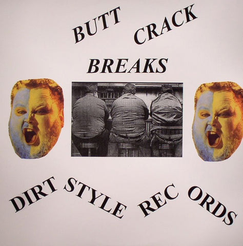 "Butchwax - Buttcrack Breaks 12"" BW1 Dirt Style Records"