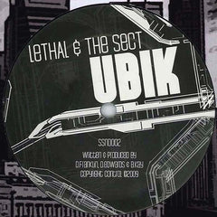 "Lethal & The Sect - Ubik / Whiteout 12"" SSND002 Surround Sound"