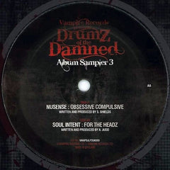 Nusense / Soul Intent - Drumz of the Damned Album Sampler 3 VAMPDJLP2UK003 Vampire Records