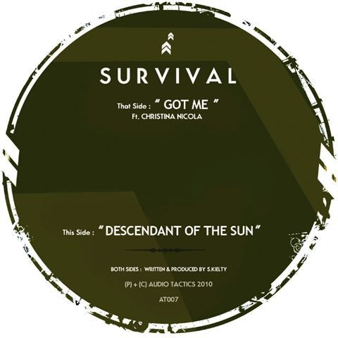 "Survival - Got Me 12"" AT007 Audio Tactics"