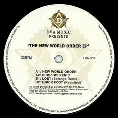 "Various - The New World Order EP 12"" DVA005 DVA Music"